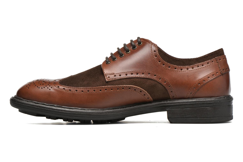 Chaussures à lacets Marvin&Co Tamworth Marron vue face