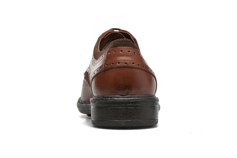 Chaussures à lacets Marvin&Co Tamworth Marron vue droite
