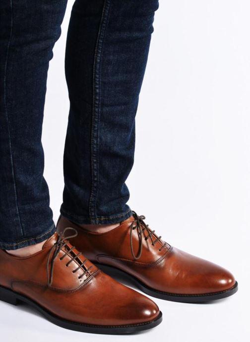 Scarpe con lacci Marvin&Co Tonbridge Marrone immagine dal basso