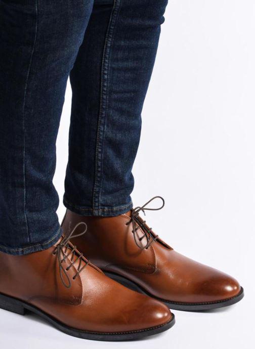 Bottines et boots Marvin&Co Tipton Noir vue bas / vue portée sac