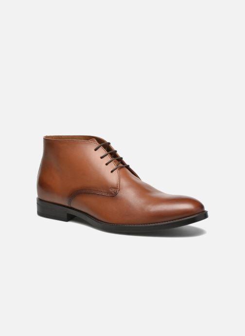 Bottines et boots Marvin&Co Tipton Marron vue détail/paire
