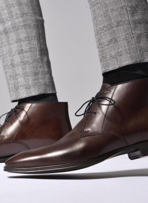 Bottines et boots Marvin&Co Torbay Noir vue bas / vue portée sac