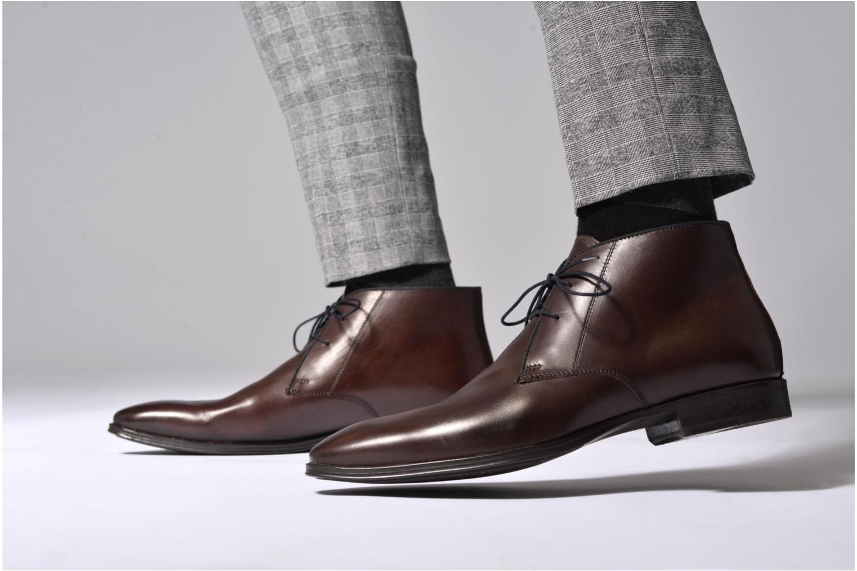 Bottines et boots Marvin&Co Torbay Marron vue bas / vue portée sac