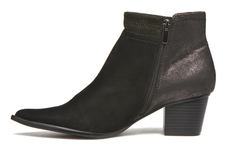 Bottines et boots Madison AYAM #Mul Ch Velours NOIR Noir vue face