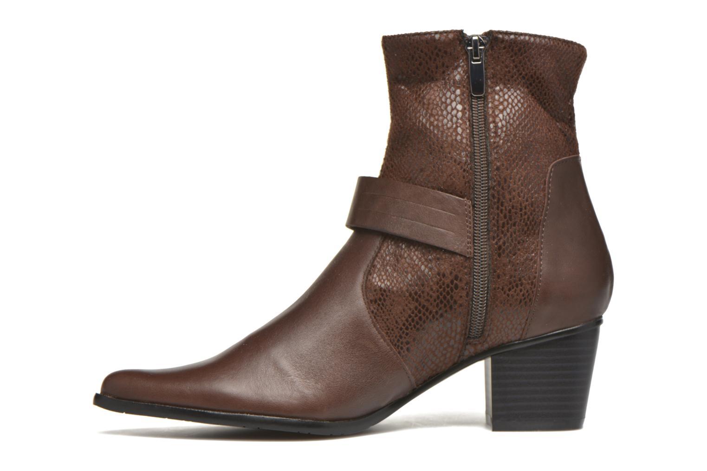 Bottines et boots Madison AYRAN ChGiava HUMUS/ReptSp Marron vue face