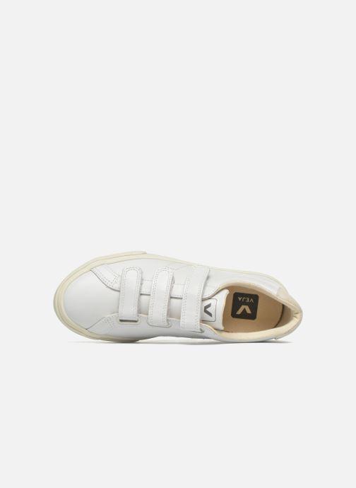 Sneaker Veja 3 Lock weiß ansicht von links