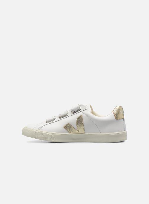 Sneakers Veja 3 Lock Oro e bronzo immagine frontale