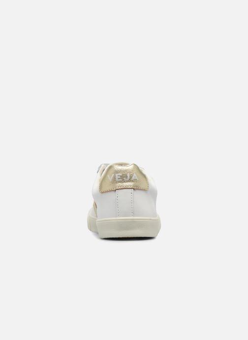 Sneakers Veja 3 Lock Oro e bronzo immagine destra