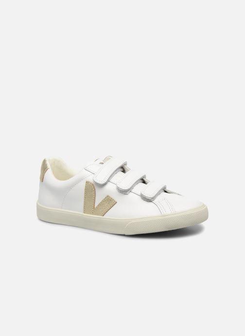 Sneakers Veja 3 Lock Oro e bronzo vedi dettaglio/paio