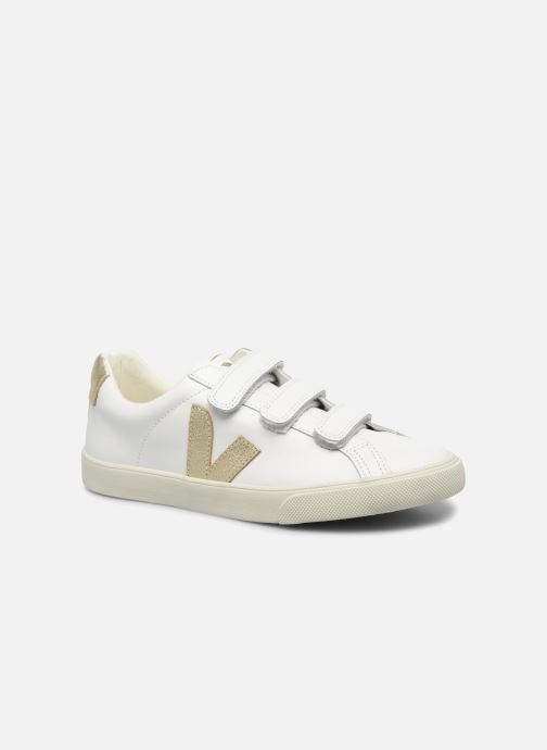 Trainers Veja 3 Lock Bronze and Gold detailed view/ Pair view