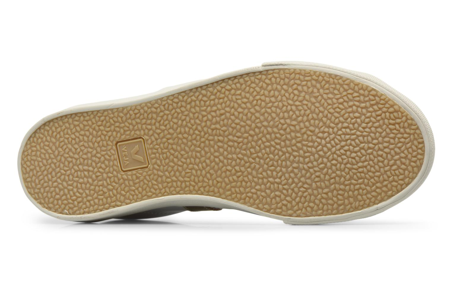 Trainers Veja 3 Lock Bronze and Gold view from above