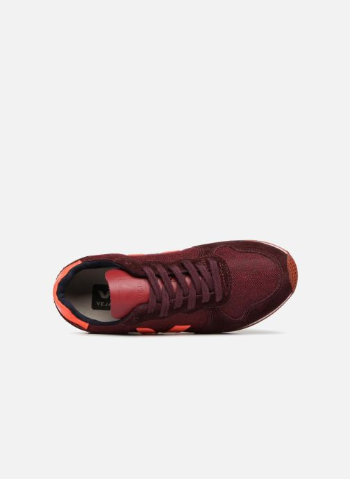 Trainers Veja Holiday Lt Red view from the left