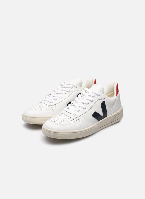 Sneaker Veja V-10 W mehrfarbig ansicht von unten / tasche getragen