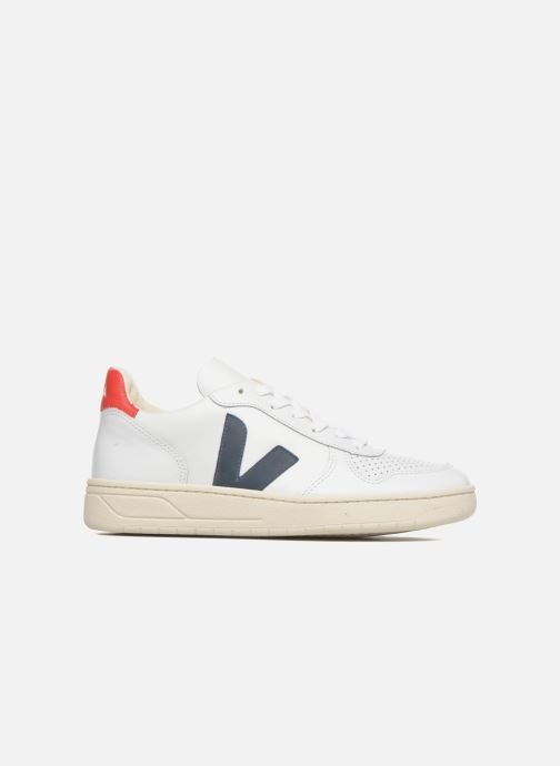 Trainers Veja V-10 W Multicolor back view