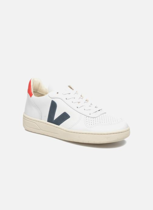 Baskets Veja V-10 W Multicolore vue détail/paire