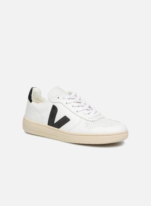 Sneakers Veja V-10 W Hvid detaljeret billede af skoene
