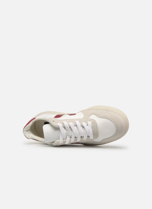 Trainers Veja V-10 White view from the left