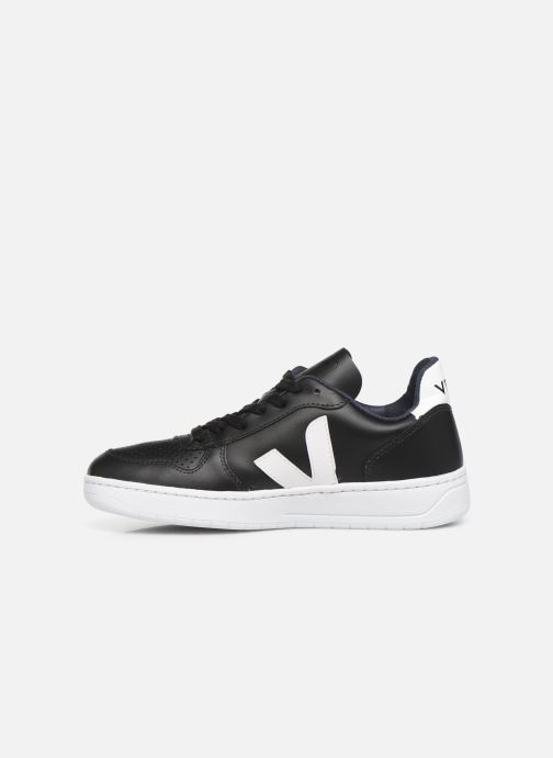 Sneakers Veja V-10 W Zwart voorkant