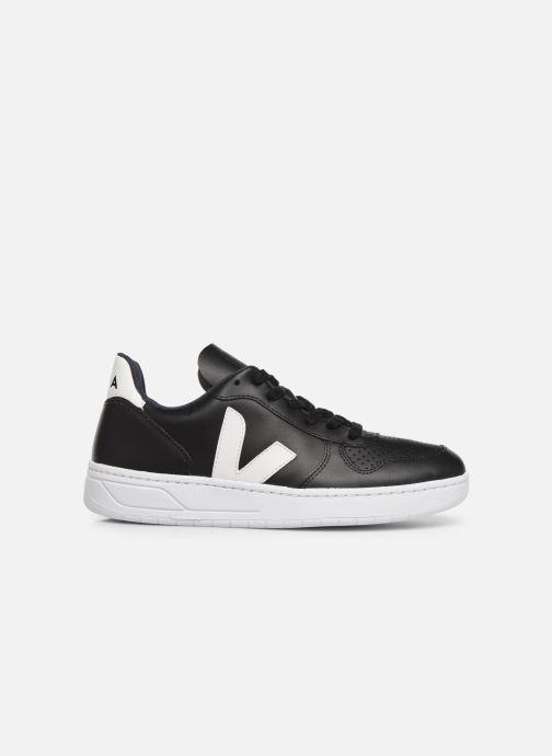 Sneaker Veja V-10 W schwarz ansicht von hinten
