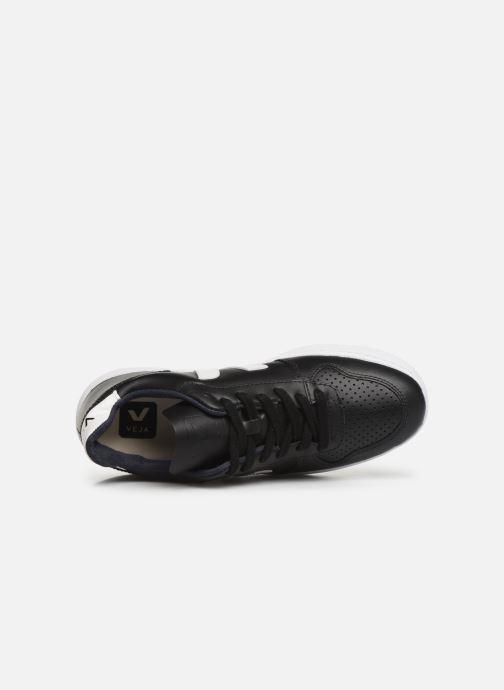 Sneaker Veja V-10 W schwarz ansicht von links