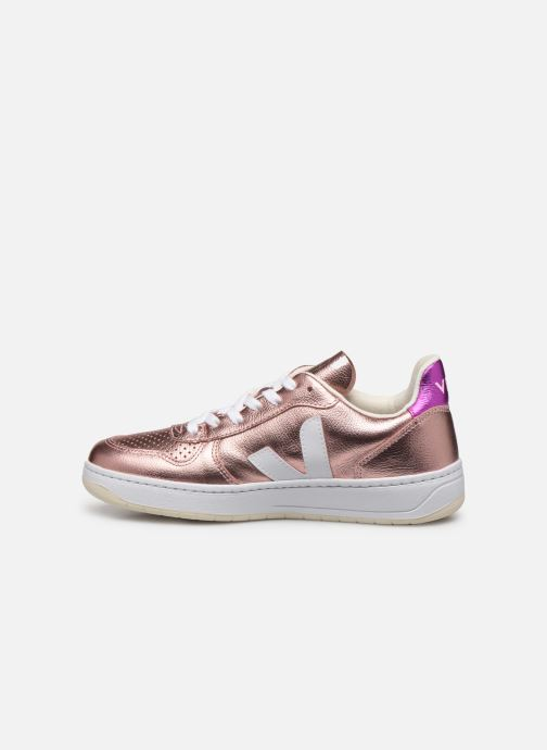 Trainers Veja V-10 Pink front view