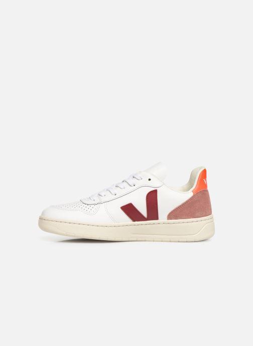 Sneakers Veja V-10 Hvid se forfra