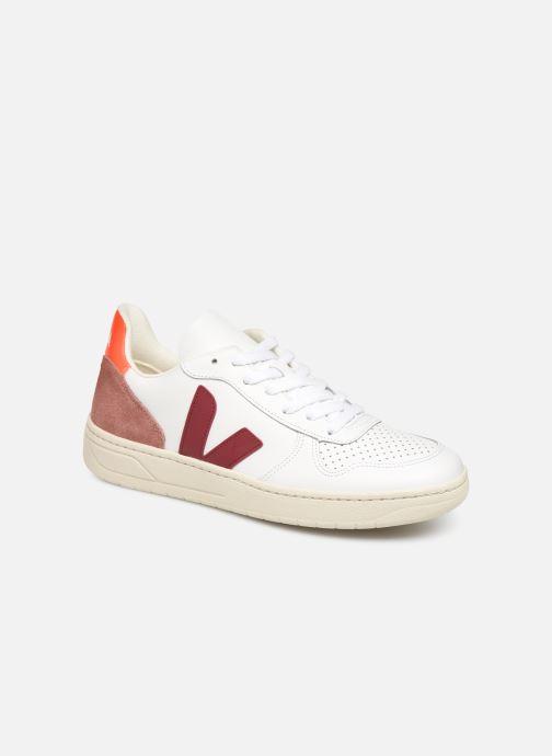 Sneakers Veja V-10 Hvid detaljeret billede af skoene