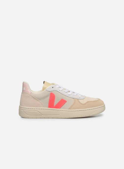 Baskets Veja V-10 W Blanc vue derrière