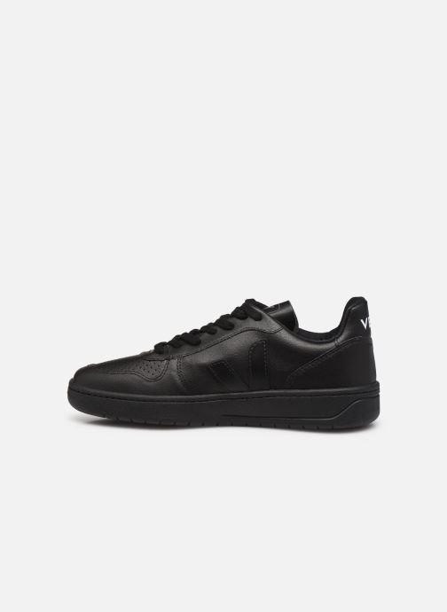 Sneaker Veja V-10 W schwarz ansicht von vorne