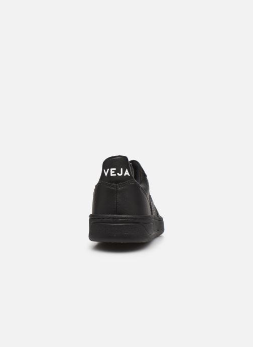 Sneaker Veja V-10 W schwarz ansicht von rechts
