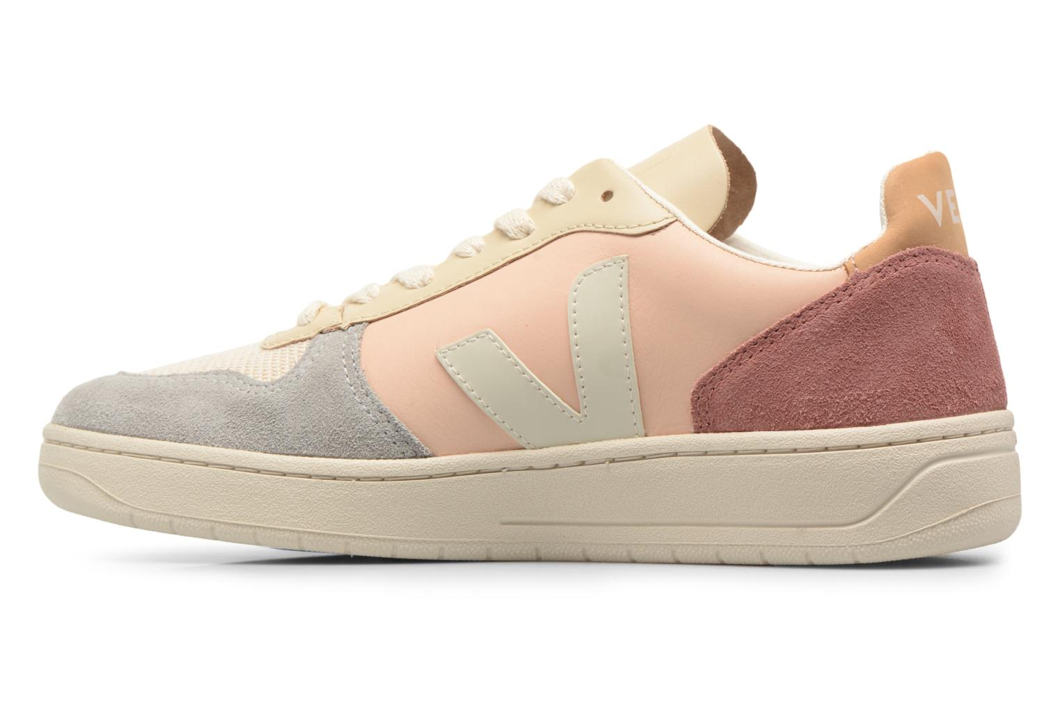 Trainers Veja V-10 W Beige front view