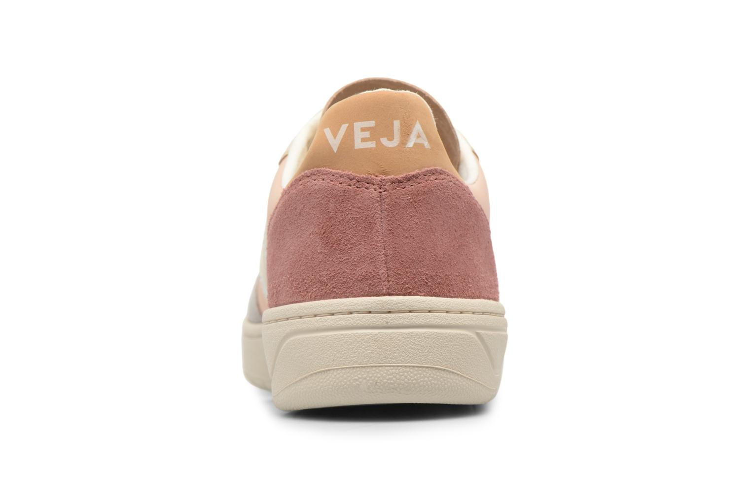 Trainers Veja V-10 W Beige view from the right