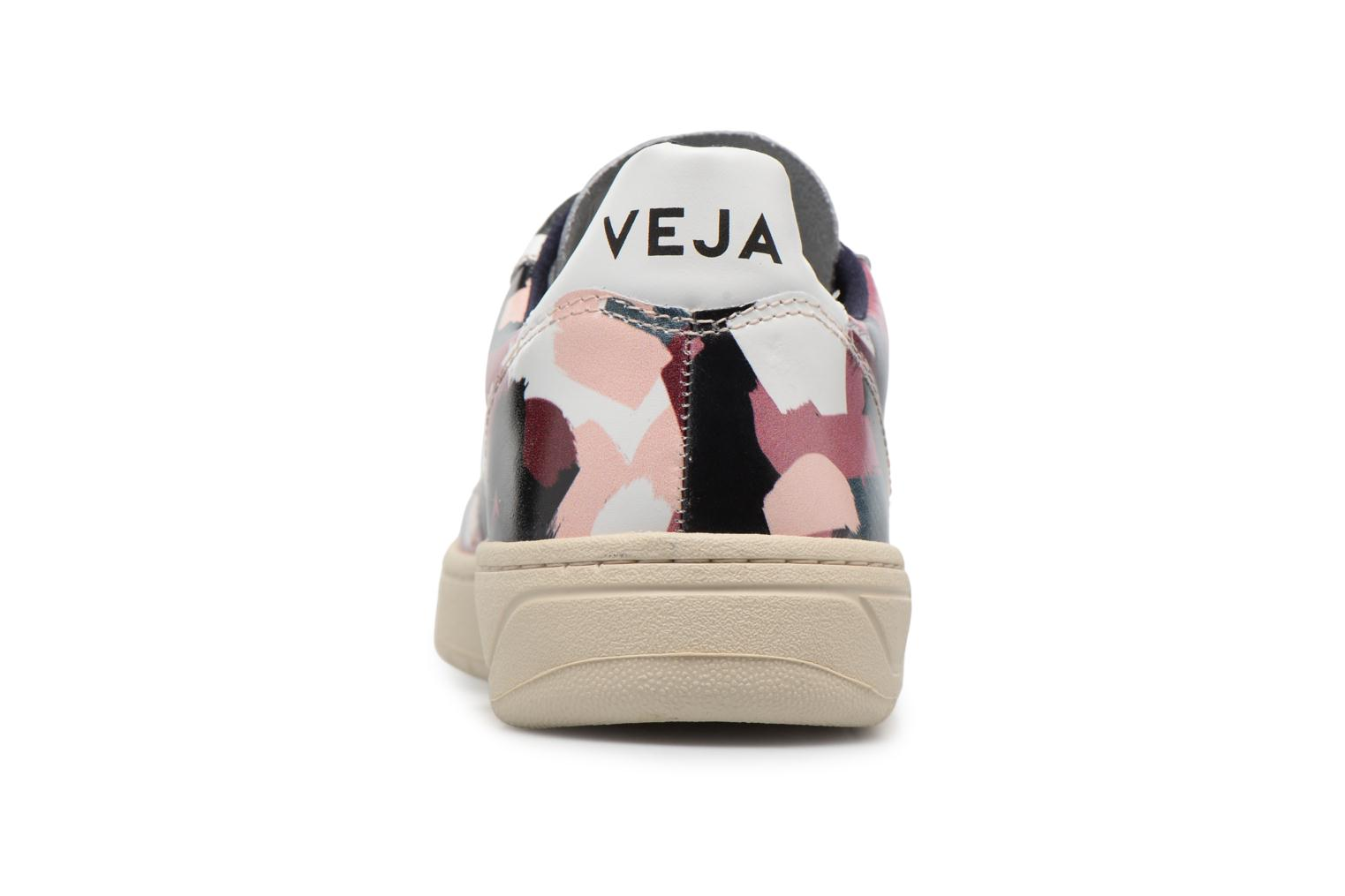 Trainers Veja V-10 W White view from the right