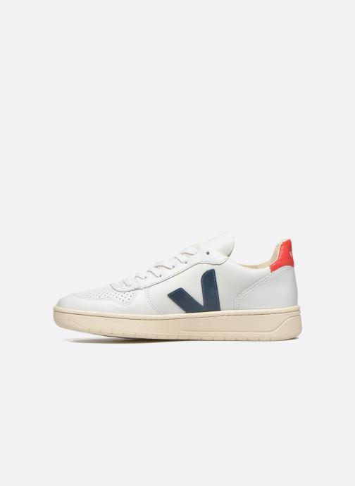 Sneaker Veja V-10 weiß ansicht von vorne