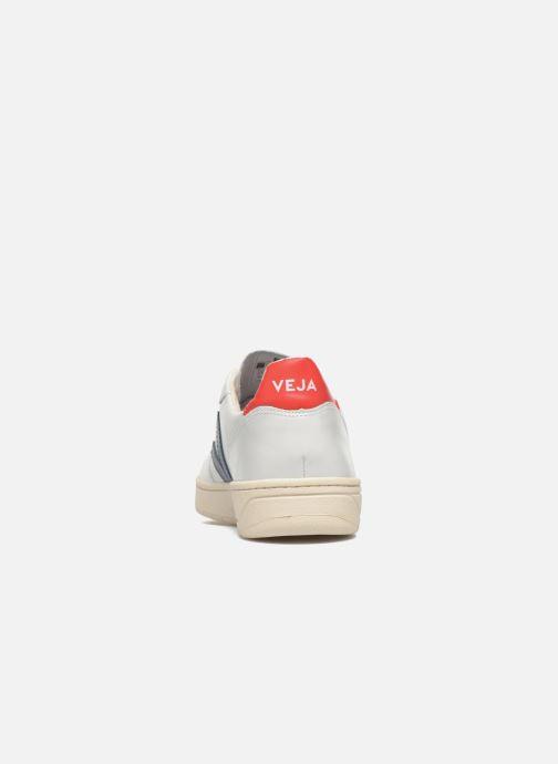 Sneaker Veja V-10 weiß ansicht von rechts