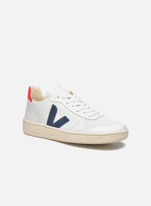 Baskets Veja V-10 Blanc vue détail/paire