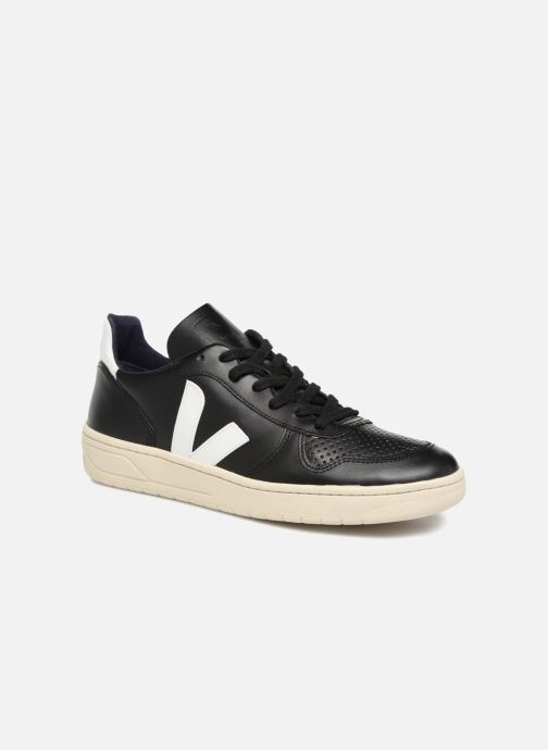 Trainers Veja V-10 Black detailed view/ Pair view