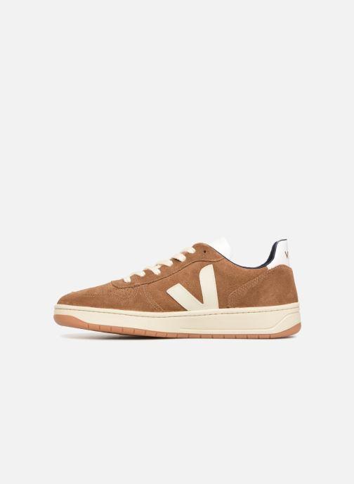 Sneaker Veja V-10 braun ansicht von vorne