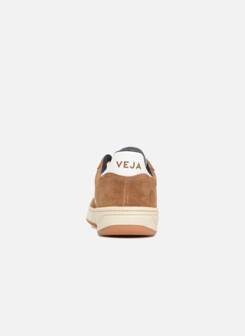 Sneaker Veja V-10 braun ansicht von rechts