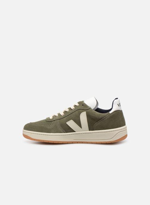Sneaker Veja V-10 grün ansicht von vorne
