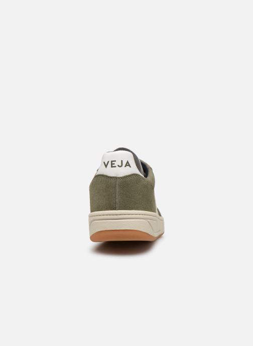 Sneaker Veja V-10 grün ansicht von rechts