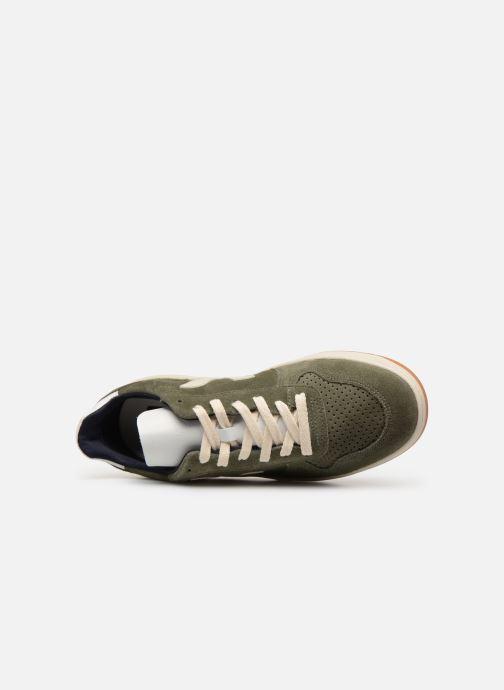 Sneaker Veja V-10 grün ansicht von links