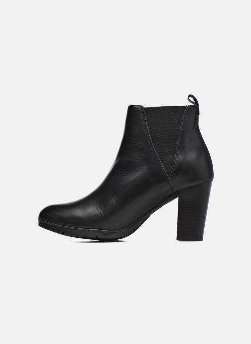 Bottines et boots Karston UBAK *Veau NOIR ~1ere.CUIR Noir vue face