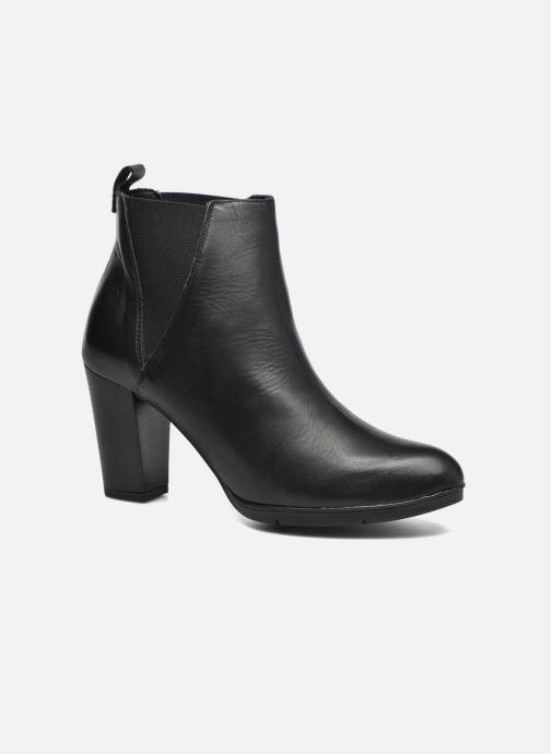 Stiefeletten & Boots Damen UBAK *Veau NOIR ~1ere.CUIR