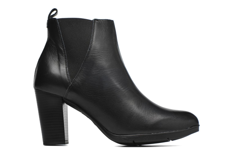 Ankle boots Karston UBAK *Veau NOIR ~1ere.CUIR Black back view