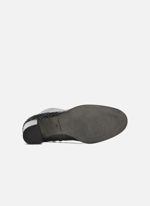 Botines  Karston GLAGOS #Cobra CARBONE ~Doubl & 1ere CUIR Negro vista de arriba