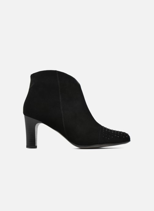 Ankle boots Karston IFLOU *Ch Velours NOIR ~Doubl & 1ere CUIR Black back view