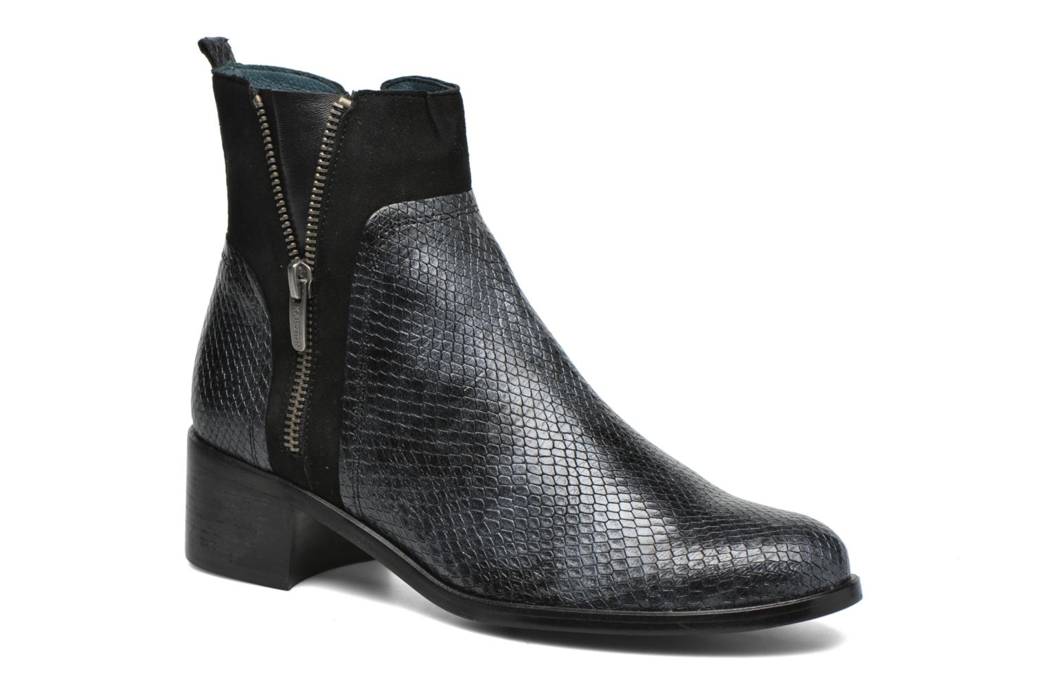 Ankle boots Karston GLEDY noir Black detailed view/ Pair view