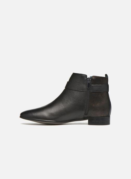 Bottines et boots Karston JOYAU Vo NOIR/Mat.BRONZE ~Doubl & 1ere CUIR Noir vue face