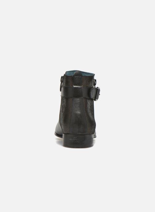Bottines et boots Karston JOYAU Vo NOIR/Mat.BRONZE ~Doubl & 1ere CUIR Noir vue droite